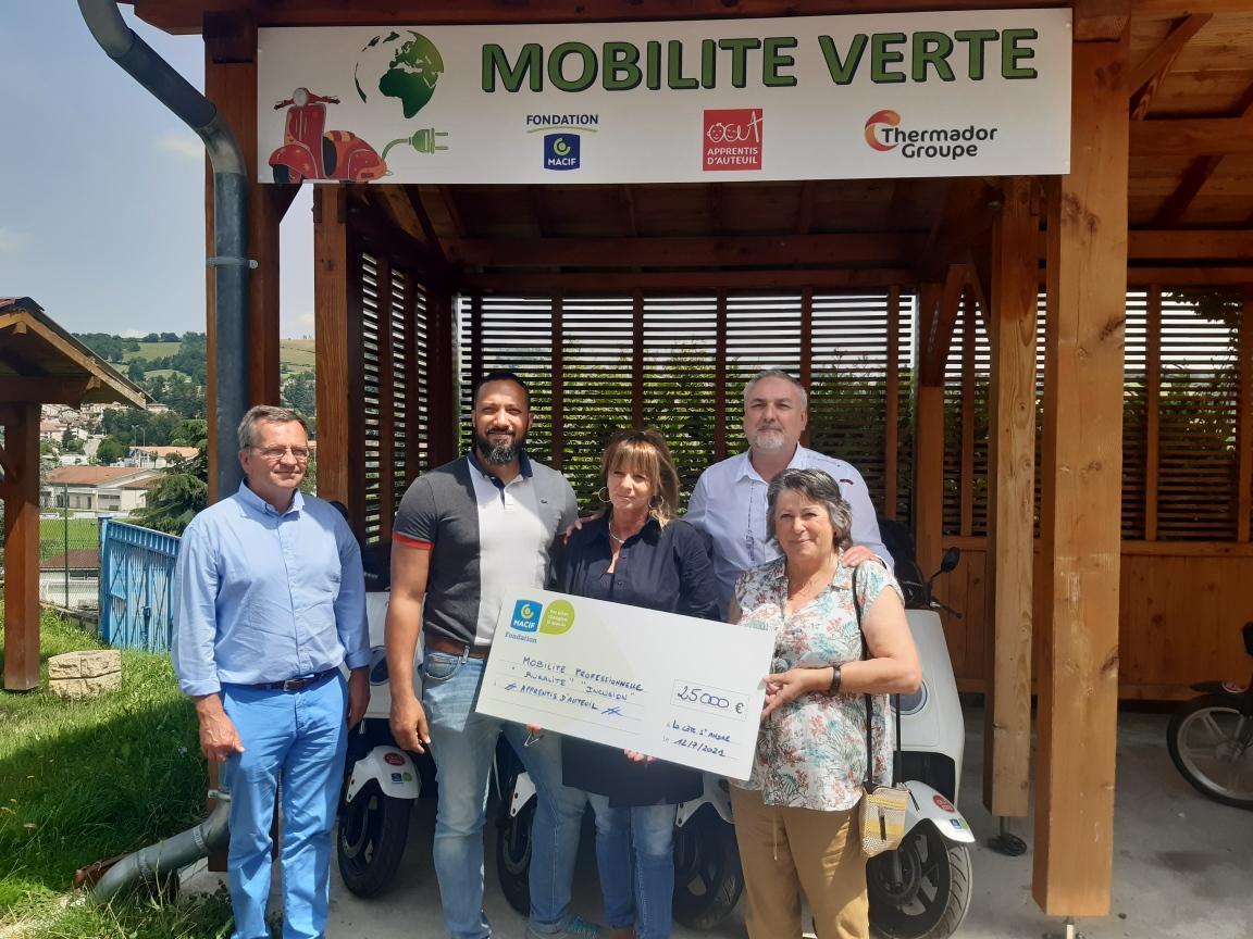 Inauguration du projet Mobilité Jeunes JMV en Auvergne-Rhône-Alpes