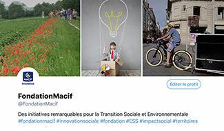 La Fondation Macif sur Twitter, pour quoi faire ?